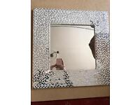 Mosaic Square Mirror