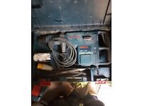 gbh11 de hammer drill combi 110v in good working order