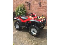 Honda trx 500 not 350 on the road farm quad
