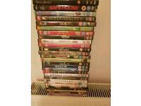 Selection of dvds.