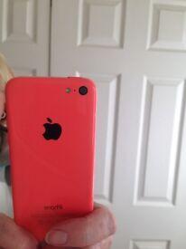Pinky coloured iPhone 5c