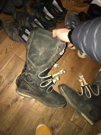 Fox motocross boots size 13
