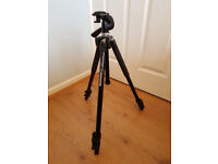 Manfrotto 290 Tripod with 3-Way Quick Release Head and Tripod Bag
