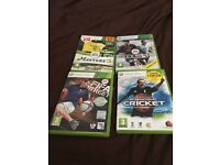 Xbox 360 sports games set of 4