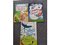 Children reading books x 3 (stage 10 White)