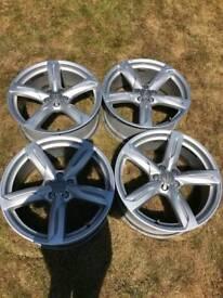"Audi Genuine 20"" wheels (q5)"