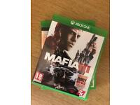 XBOX ONE Games (Mafia 3/Forza Horizon 3)