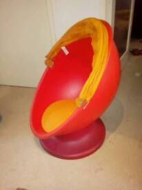 Ikea kids egg chair