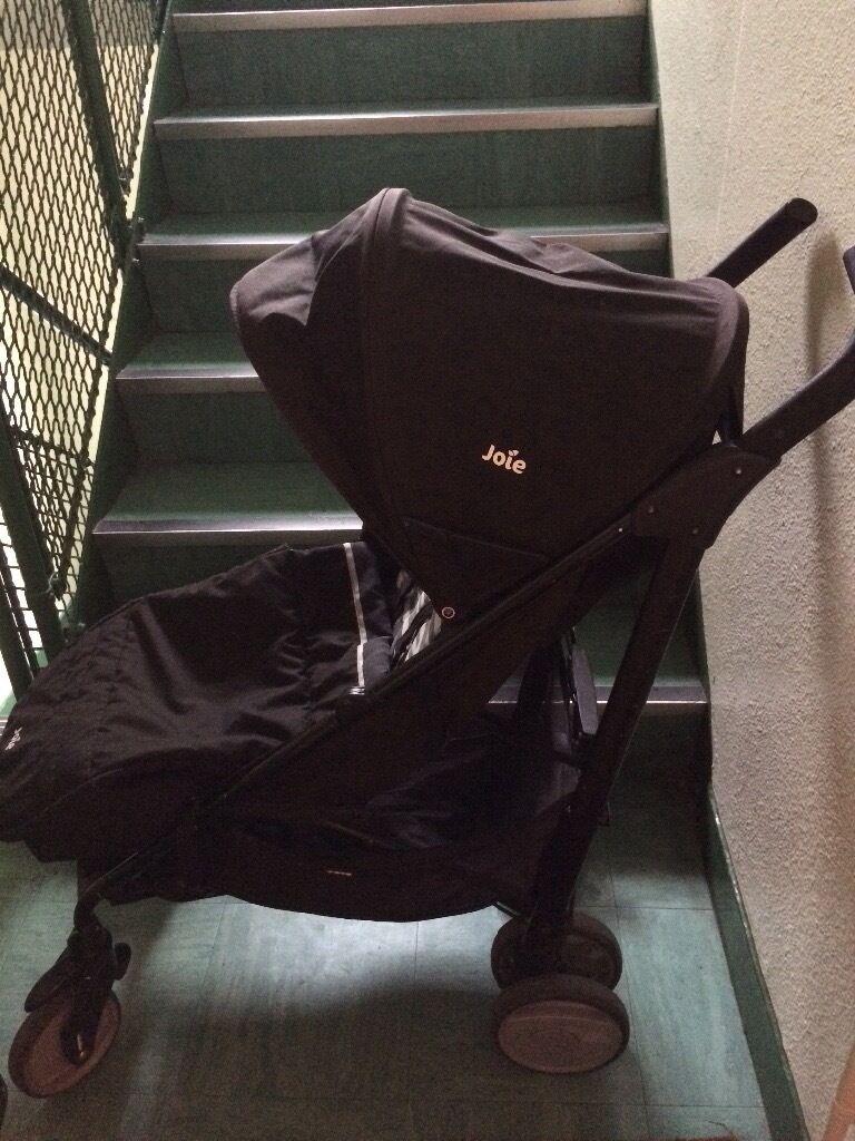 Black Joie Stroller -lightweight