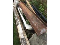 RSJ steel beam lintel