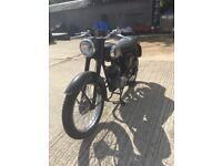 BSA bantam 175 cc not been used for a while but run well them