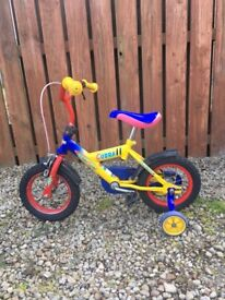 Kids Bike, with Brake and with Removable Stabilisers