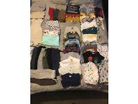 Baby boy 9-12 months clothes bundle