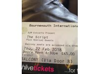 The Script tickets