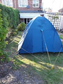 Vango 4 man tent ideal for music festival