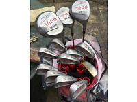 Wilson 1200 golf Club set & goodies