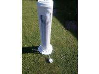 Tower fan for sale,
