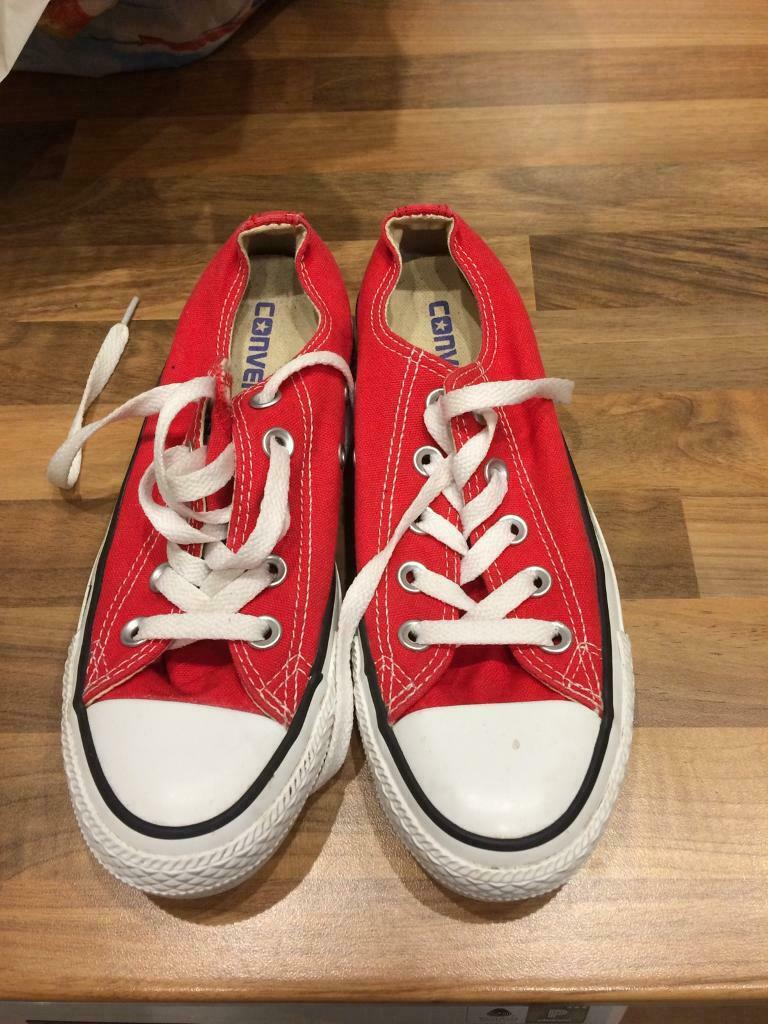 Red converse pumps  ca3fd0fd2