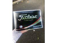 Titleist Pro V1x - Brand New - Latest Model - £30 A Dozen
