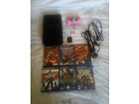 PS2 with 6 classic games!