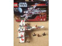 LEGO STAR WARS 6212 X WING FIGHTER COMPLETE WITH FIGURES