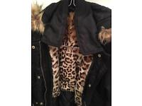 Fashion Coat for teenager aged 11/14 and black size 6 pumps for free!