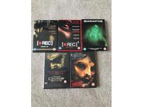Horror DVD's Rec & Rec 2 Quarantine Texas Chainsaw Massacre
