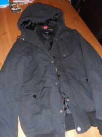 Mens Small H&M Balck Winter Jacket