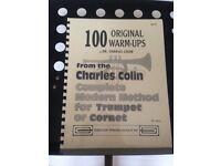 Trumpet/cornet practice book: 100 original warm-ups by Dr Charles Colin