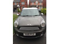 Mini Countryman Cooper D 1.6 Diesel 2010 FSH Low Miles MINT One Owner From New