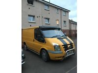 ford transit 2198cc yellow 56 plate with private reg 2495 no offers at all no more timewasters