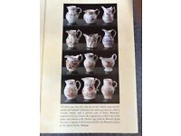 ROYAL WORCESTER HISTORIC MINIATURE JUGS. COMPLETE COLLECTION OF 12 .
