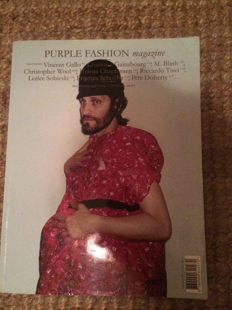 Purple Fashion Magazine Vol3 Issue.6 Vincent Gallo Charlotte Gainsbourg
