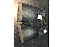 Boys denim jeans shorts
