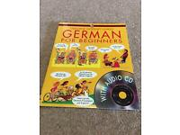Usborne German for Beginners Guide & Audio CD