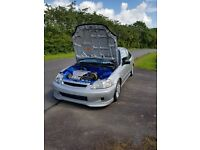 Honda Civic EJ6 Coupe K20 K Swap Arden Blue Tucked Bay