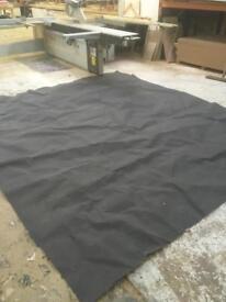 Charcoal Grey Cord Carpet
