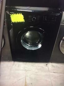 Black beko 7kg load washing machine