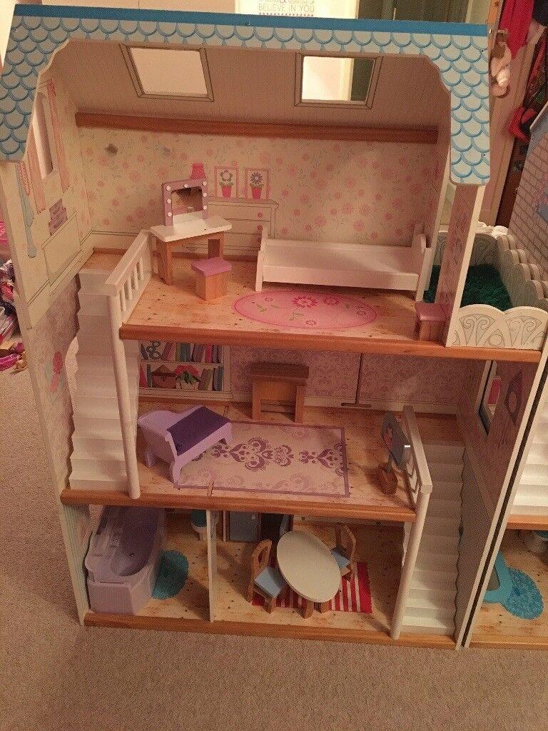 Elc dolls house wooden for barbie