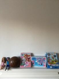 Toys, dolls and games all for £4