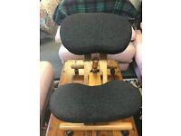 kneeling orthopaedic ergonomic posture chair £20.00