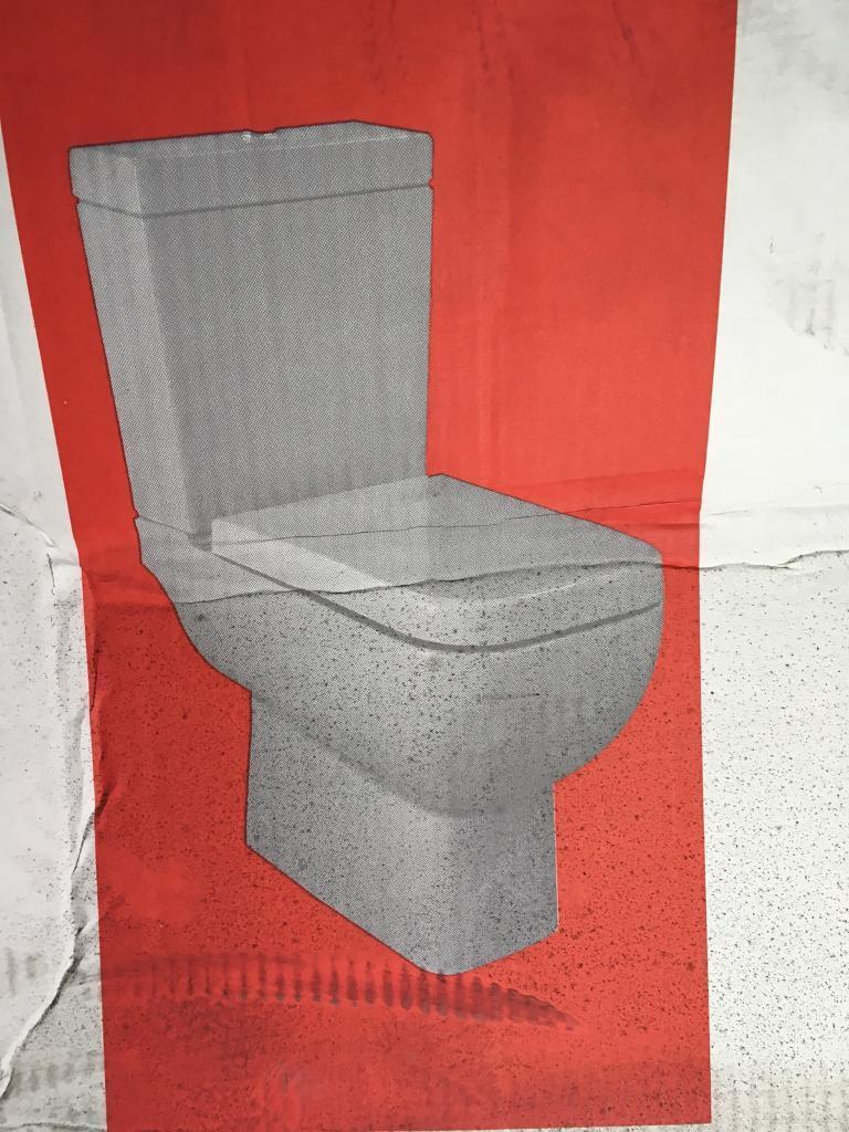 Brand new toilet, cistern, flush and seat!