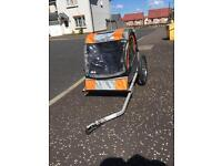 Children's bicycle trailer