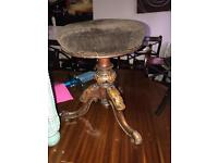 Antique carved stool