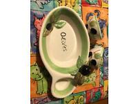 Olive Dish Set