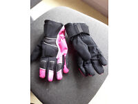 Ladies Motorcycle Gloves Size S