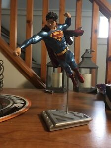 DC and Marvel statues and busts