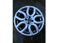 Mini Cooper flame style alloy wheel