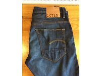 Mens G-Star Raw GS01 Tapered Jeans (34,34)