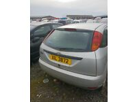 01 FORD FOCUS ZETEC 1.8 DIESEL breaking for parts only all parts available postage nationwide